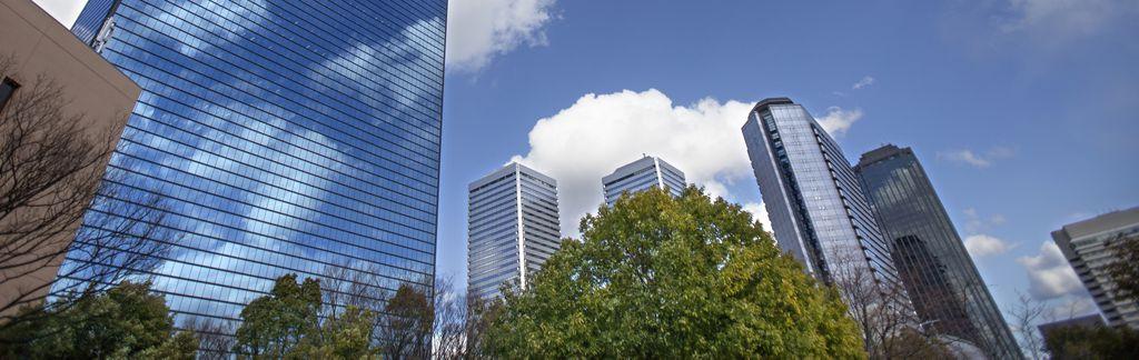 東京ビル街