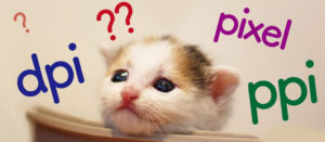 pixel・dpi・ppiの違いは?